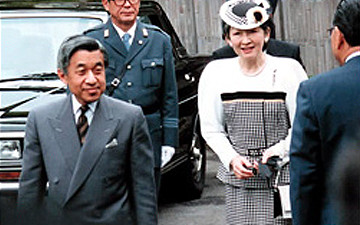 May 12th, 1992 : A visit by His Imperial Majesty Emperor Akihito and Her Imperial Majesty Empress Michiko.